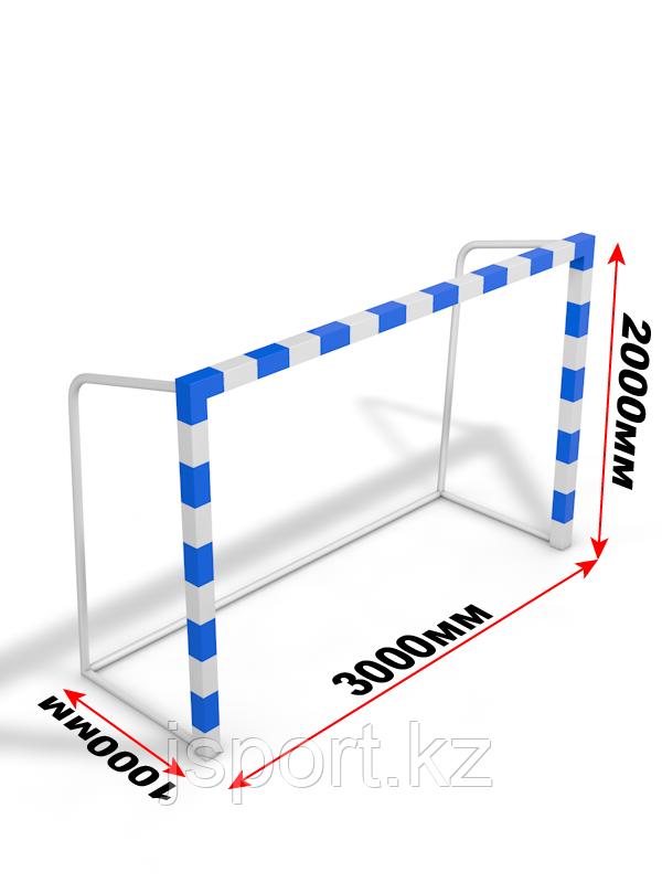 Ворота для мини футбола/гандбола 80*80мм (3м*2м*1м)