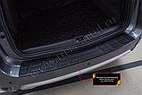 Защита заднего бампера Nissan Terrano 2014- н.в. , фото 3