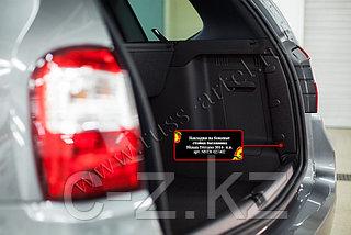 Накладки на боковые стойки багажника Nissan Terrano - н.в.