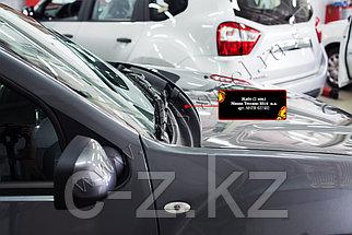 Жабо цельное (вставное) Nissan Terrano 2014- н.в., фото 2