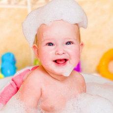 Детские гели для душа и пенки для купания