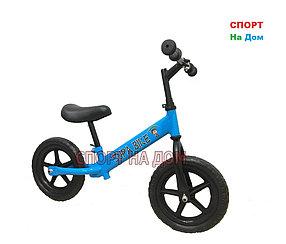 Детский беговел Supa Bike (голубой)