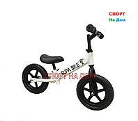 Детский беговел Supa Bike (белый)