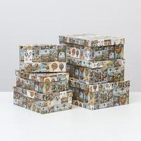 Набор коробок 6 в 1 'Воздушные шары большие', 35 х 25 х 12,5 - 23 х 13 х 7,5 см