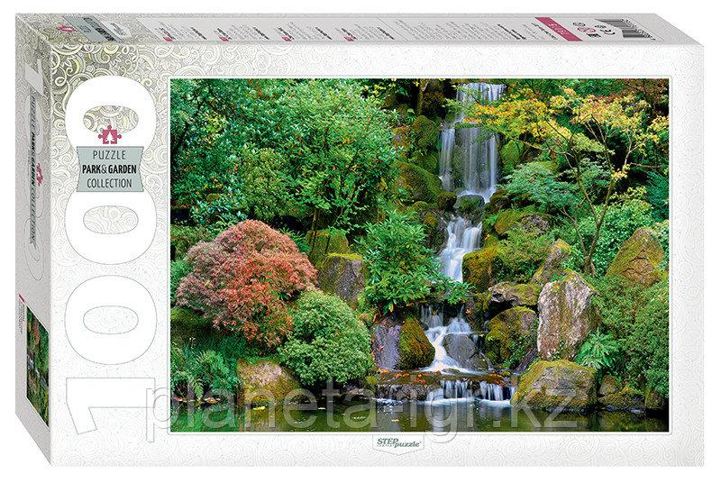 """Мозаика """"puzzle"""" 1000 """"Водопад в японском саду"""""""