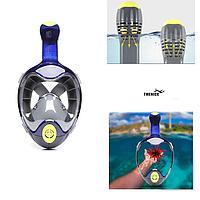 Маска для подводного плавания и ныряние с креплением GoPro