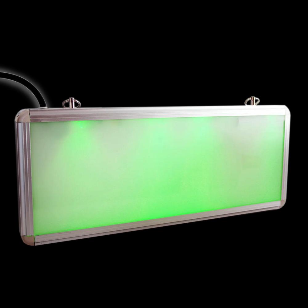 Аварийный LED ДБА EXIT(ВЫХОД) без логотипа 3W (P) 1.5 часа  Megalight NEW