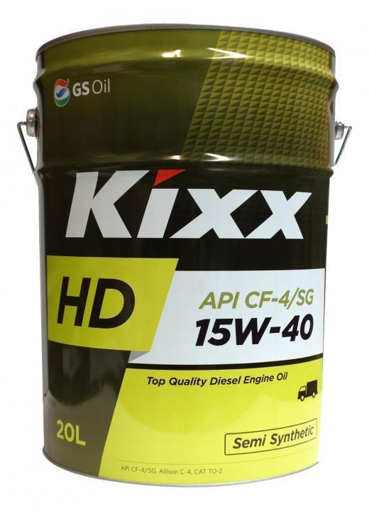 KIXX HD 15W-40 CF-4 дизельное масло 20л.