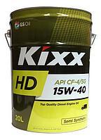 KIXX HD 15W-40 CF-4 дизельное масло 20л., фото 1