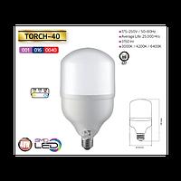 Светодиодная (LED) лампа 40W 6400K E27 для съёмки