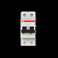 2CDS252001R0104 Автоматический выключатель ABB, S202 2P 10А (С) 6 kA
