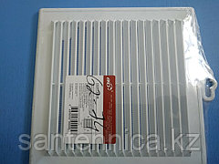 Решетка вентиляционная пластик 208х208 мм Эра 2121Р