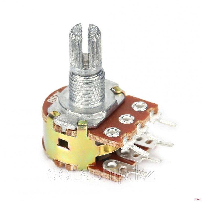 RES B50K d13mm 6 pin с выкл 15mm