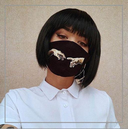 """Стильная маска для лица """"PERFECT"""""""