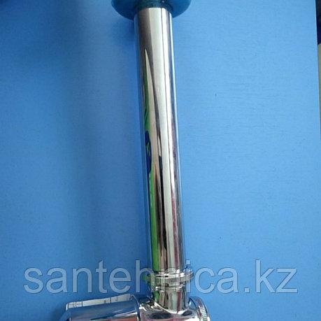 Сифон для раковины бутылочный Frap F80 из нержавеющей стали, фото 2
