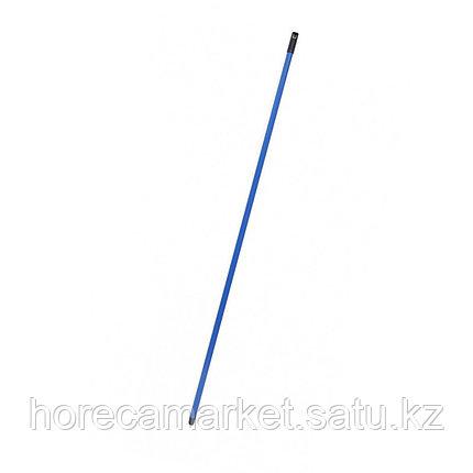 Металлическая рукоятка 130 см синяя, фото 2