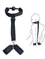 Фиксатор БДСМ (наручники+ошейник)