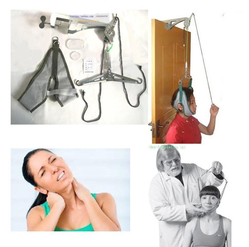 Петля Глиссона для лечения остеохондроза и растягивания мышц шеи и спины