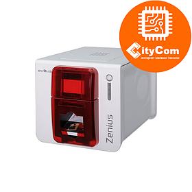 Принтер печати на пластиковых картах Card Printer EVOLIS Zenius Classic Red, USB ZN1U0000RS Арт.4673