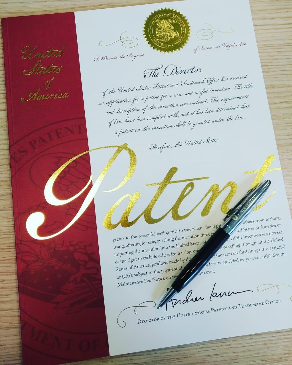 Оформление патента США