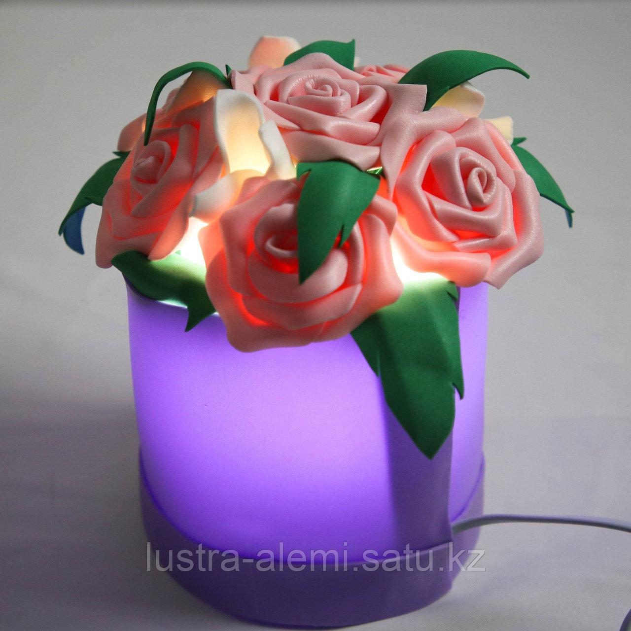 Настольный Светильник Цветок ручной mini