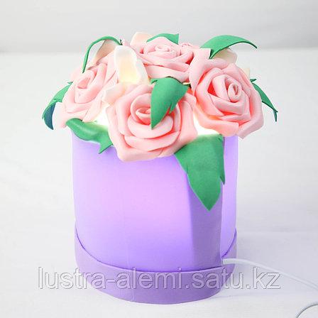 Настольный Светильник Цветок ручной mini, фото 2