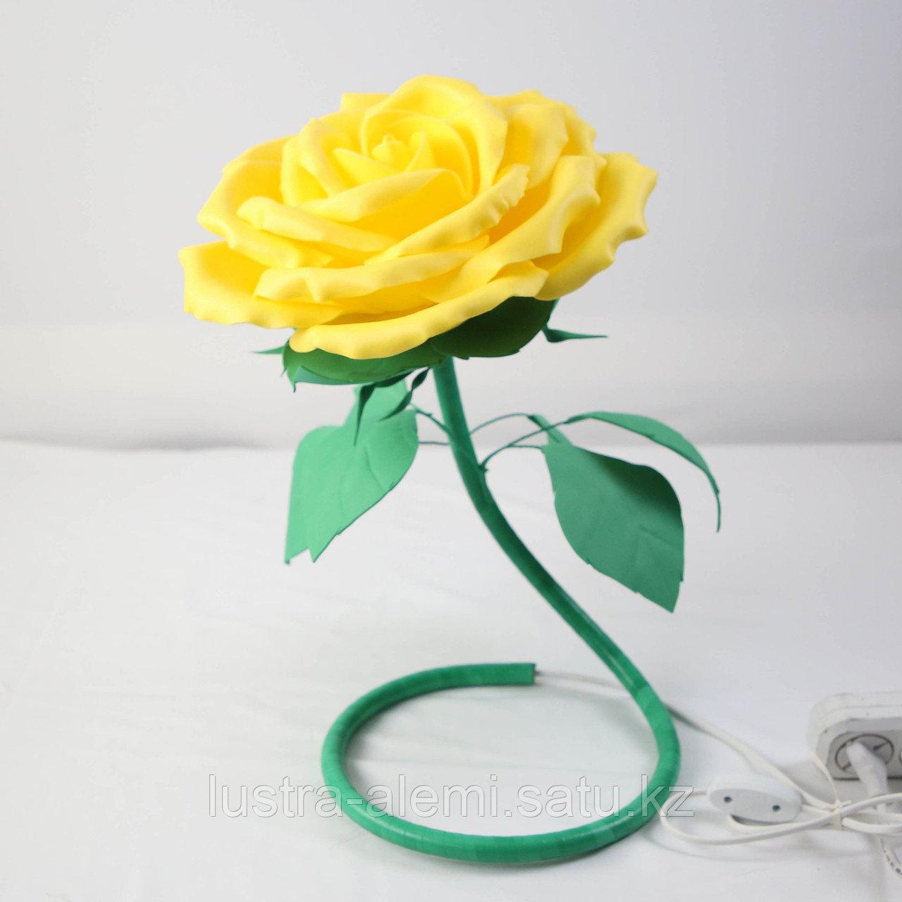 Настольный Светильник Цветок ручной Yellow