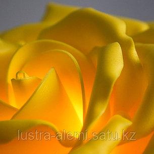 Настольный Светильник Цветок ручной Yellow, фото 2