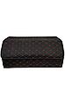 Сумка органайзер в багажник Экокожа, красная строчка