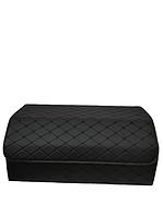 Сумка органайзер в багажник Экокожа, черная