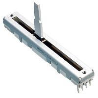 RES B100K 45mm 3ног ползунковый резистор