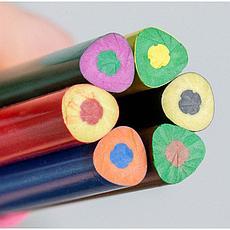 """Карандаши цветные пластиковые Berlingo """"Цирк"""", 12цв., заточен., картон, европодвес, фото 3"""