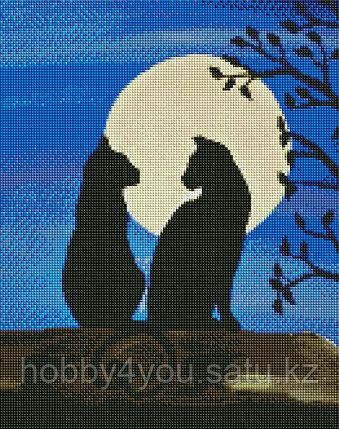 Картина круглыми стразами, 40*50см на деревянном подрамнике, фото 2