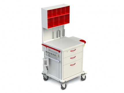 Тележка медицинская многофункциональная ТМ-2