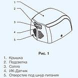 Сушилка для рук высокоскоростная EHDA/BH-800 Electrolux, фото 2