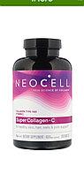 Neocell, Super Collagen СУПЕР КОЛЛАГЕН 1 и 3 типа 1000 мг.+Витамин С 250 таблеток.