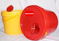 Контейнер 3л для сбора острого инструментария Желтый/Красный