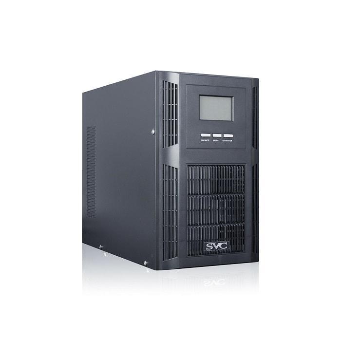 UPS SVC PT-2K-LCD (Источник бесперебойного питания,  SVC, PT-2K-LCD, Мощность 2000ВА/1600Вт, PT-cерия,
