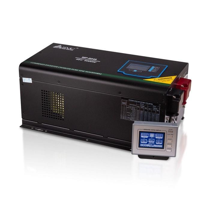 Инвертор SVC MP-6048 (Инвертор, SVC, MP-6048, Мощность  6000ВА/6000Вт, Рабочее напряжение: 160-265B, Вход