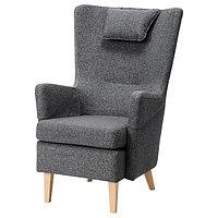Кресло ОМТЭНКСАМ Гуннаред темно-серый ИКЕА, IKEA, фото 1