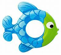 Круг надувной Рыбка, 2 вида Intex