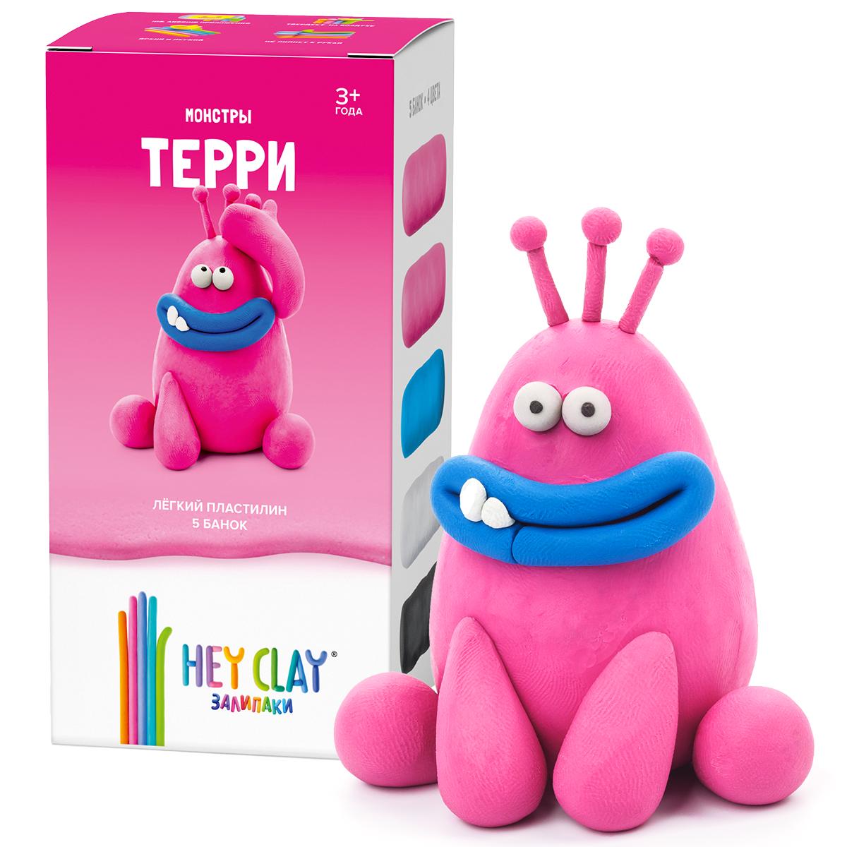 Легкий пластилин залипаки HEY CLAY - Терри