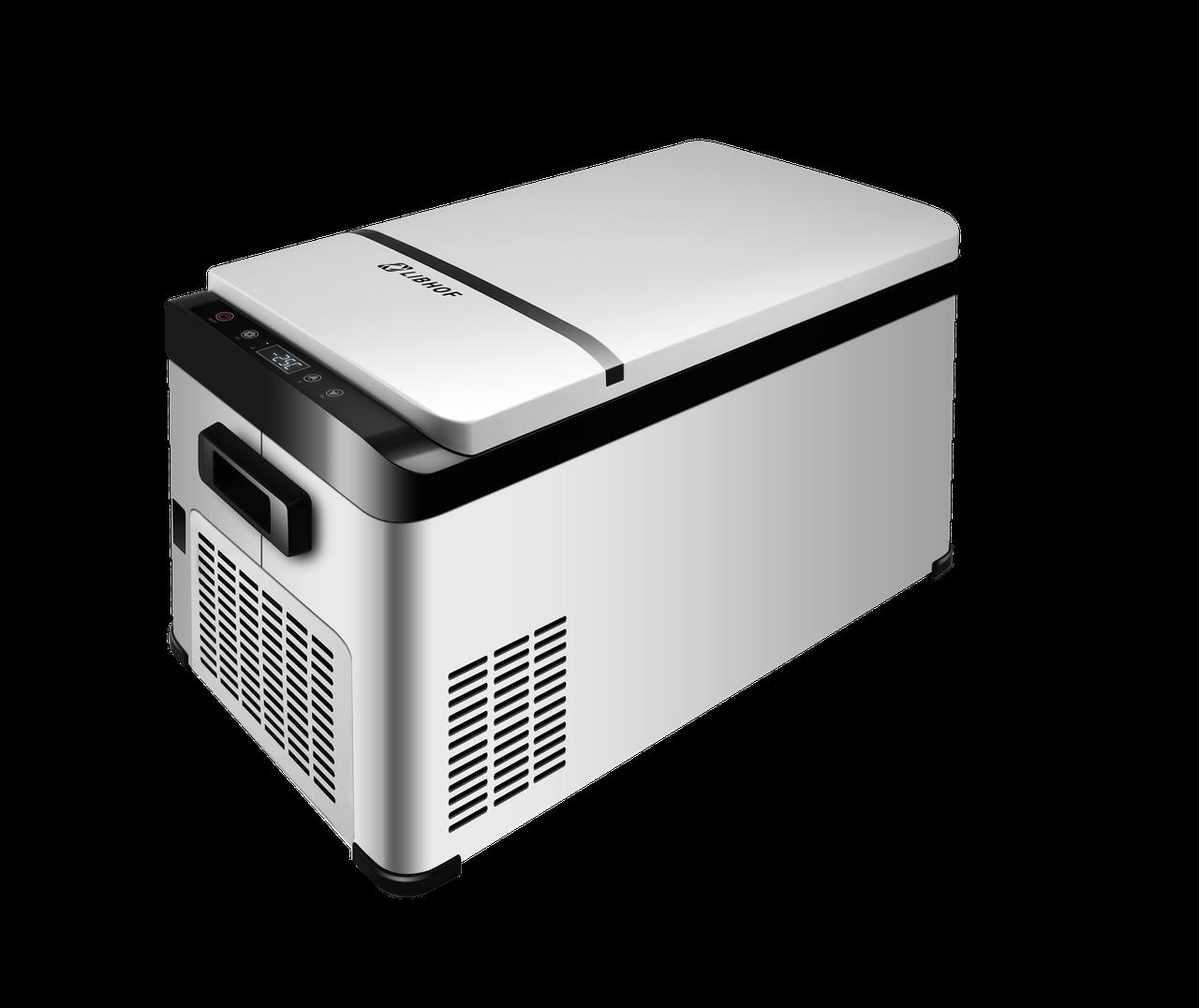 Автомобильный компрессорный холодильник LIBHOF K-26 - фото 1