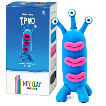 Легкий пластилин HEY CLAY Залипаки - Трио