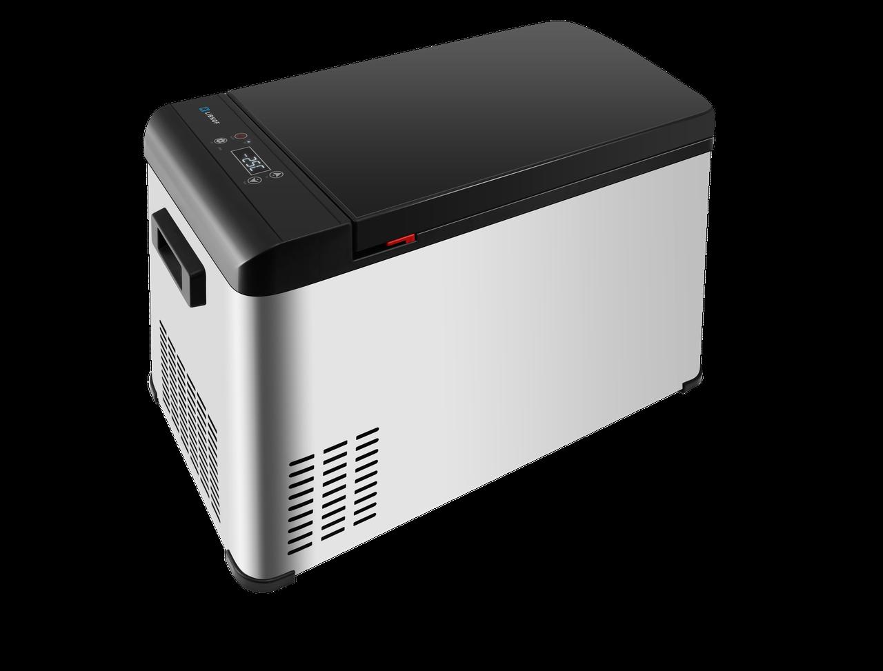 Автомобильный компрессорный холодильник LIBHOF Q-28 - фото 1