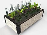 Дизайнерские решения для клумбы и цветников из ДПК, фото 6