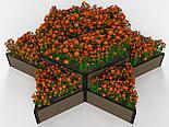 Дизайнерские решения для клумбы и цветников из ДПК, фото 9