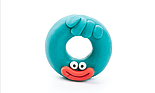 Легкий пластилин залипаки HEY CLAY - Пончик, фото 2