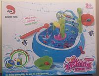 Детская игрушка рыбалка с бассейном