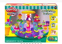 Набор для лепки аналог Play-Doh Фабрика Мороженого пластелин